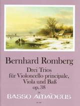 3 Trios Op.38 Bernhard Heinrich Romberg Partition laflutedepan.com