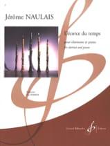 L'écorce du Temps Jérôme Naulais Partition laflutedepan.com