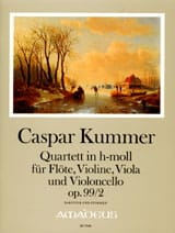 Gaspard Kummer - Quartett in h-moll op. 99/2 -Partitur + Stimmen - Partition - di-arezzo.fr