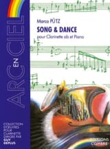 Song et Dance Marco Putz Partition Clarinette - laflutedepan.com