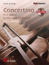 Concertino en Ré Maj. In Style Of Mozart laflutedepan.com