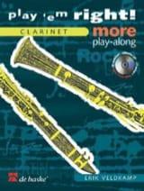 Erik Veldkamp - Play'em Right ! More Play-Along - Clarinet - Partition - di-arezzo.fr