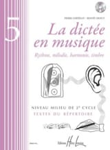Pierre CHEPELOV et Benoit MENUT - The Dictation in Music Volume 5 - Sheet Music - di-arezzo.com