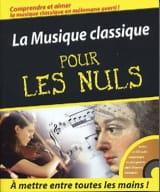 La Musique Classique pour les Nuls Partition laflutedepan.com