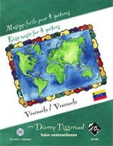 Musique Facile pour 4 Guitares : Vénézuela laflutedepan.com