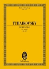 TCHAIKOVSKY - Serenade C-Dur, op. 48 - Partitur - Sheet Music - di-arezzo.co.uk