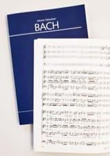Cantate Himmelfahrtsoratorium BWV 11 BACH Partition laflutedepan.com