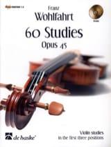 60 Etudes Op 45 2 CD Franz Wohlfahrt Partition laflutedepan.com