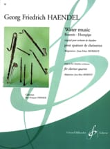 Georg Friedrich Haendel - Water Music - Partition - di-arezzo.fr