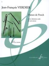 Danses de Pintch Jean-François Verdier Partition laflutedepan.com