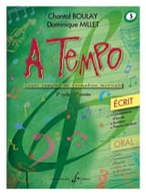 A Tempo Volume 5 - Ecrit BOULAY - MILLET Partition laflutedepan.com