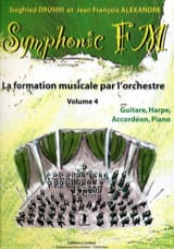 DRUMM Siegfried / ALEXANDRE Jean François - Symphonic FM Volume 4 - Guitar, Harp, Accordion, Piano - Sheet Music - di-arezzo.co.uk