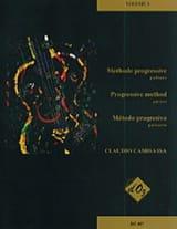 Méthode Progressive Volume 3 Claudio Camisassa Partition laflutedepan