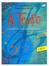 BOULAY - MILLET - A Tempo Volume 5 - Oral - Partition - di-arezzo.fr