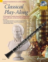 Classical Play-Along For Clarinet Partition laflutedepan.com