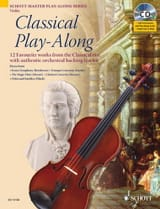 Classical Play-Along For Violon Partition Violon - laflutedepan.com
