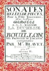 Michel Blavet - Sonates Mélées De Pièces - Partition - di-arezzo.fr