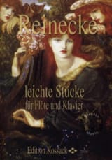 Carl Reinecke - Leichte Stücke en Flöte und Klavier - Partitura - di-arezzo.es