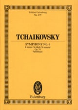 TCHAIKOVSKY - Symphony No. 6 h-moll op. 74 Pathetic - Partitur - Sheet Music - di-arezzo.co.uk