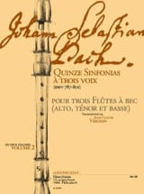 BACH - Quince Sinfonias con tres voces vol.2 - BWV 787-801 - Partitura - di-arezzo.es