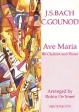 Ave Maria Bach Johann Sebastian / Gounod Charles laflutedepan.com