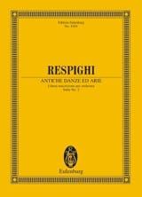 Antiche Danze Ed Arie - Suite N°2 Ottorino Respighi laflutedepan.com