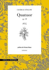Georges Onslow - Quatuor N° 25 Opus 50 - Partition - di-arezzo.fr