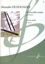 Alexandre Ouzounoff - 36 Nouvelles Etudes volume 2 - Partition - di-arezzo.fr