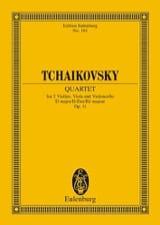 Streich-Quartett D-Dur, Op. 11 - Conducteur - laflutedepan.com
