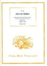 - Ballet tunes - 2 Basses of viol - Sheet Music - di-arezzo.com