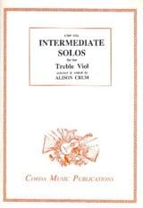 Intermediate solos for the Treble Viol Partition laflutedepan.com