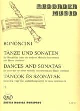 Dances And Sonatas Vol 2 Giovanni Battista Bononcini laflutedepan.com