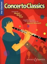 concerto classics for clarinet Edward Maxwell laflutedepan.com