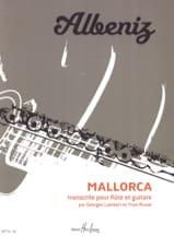 Mallorca Isaac Albeniz Partition Duos - laflutedepan.com