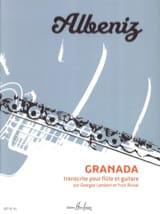 Granada ALBENIZ Partition Duos - laflutedepan