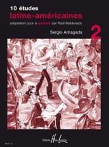 Sergio Arriagada - 10 Latin American Studies Volume 2 - Sheet Music - di-arezzo.co.uk
