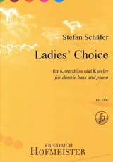 Stefan Schäfer - Ladies Choice - Partition - di-arezzo.fr
