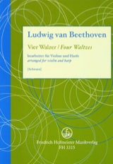 BEETHOVEN - 4 Waltzes - Sheet Music - di-arezzo.co.uk