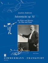 Salonstücke Op. 52 Joachim Andersen Partition laflutedepan.com