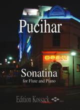 Sonatina Op.5 Blaz Pucihar Partition laflutedepan.com