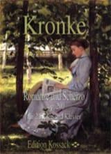 Romance et Scherzo Op.200 - Emil Kronke - Partition - laflutedepan.com