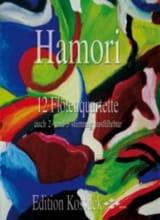 12 Flötenquartette - Thomas Hamori - Partition - laflutedepan.com