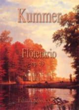 Gaspard Kummer - Flötentrio Op.53 - Partition - di-arezzo.fr