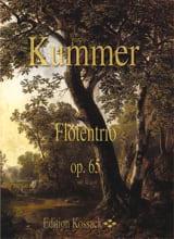 Flötentrio Op. 65 Gaspard Kummer Partition laflutedepan.com