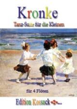 Emil Kronke - Tanz-Suite para Kleinen, op. 103 - 4 flautas - Partitura - di-arezzo.es