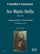 Ave Maris Stella 1681 Cristoforo Caresana Partition laflutedepan.com