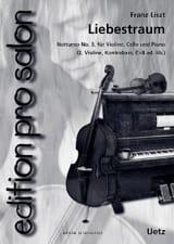 Liebestraum - Nocturne N°3 Franz Liszt Partition laflutedepan.com