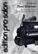 Zwei Gitarren Partition Trios - laflutedepan.com