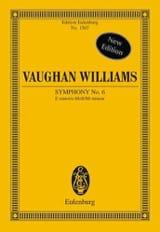 Symphony Nr. 6 e-moll Williams Ralph Vaughan laflutedepan.com