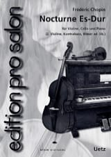 CHOPIN - Nocturne in Eb Shift - Sheet Music - di-arezzo.co.uk